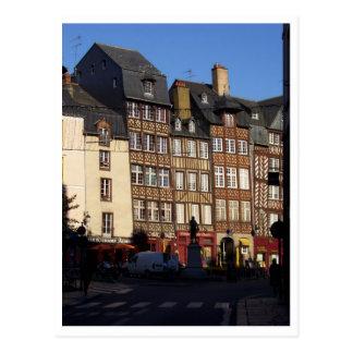 Rennes France Postcards
