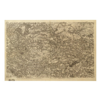 Rennes Wood Print