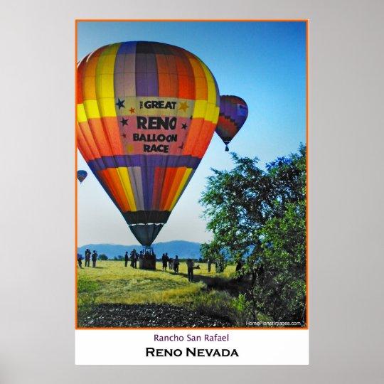 Reno Balloon Races Poster