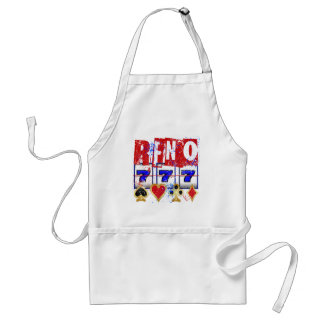 RENO - DISTRESSED AND PAINT SPLATTER ADULT APRON