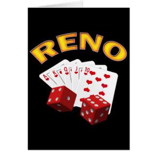 RENO GREETING CARD