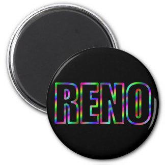 RENO Neon Magnet