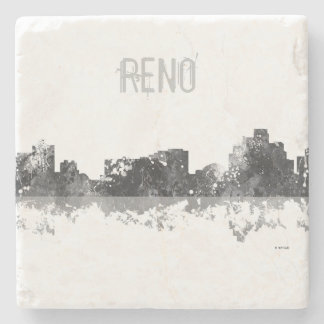 RENO, NEVADA SKYLINE - Stone Drinks Coaster
