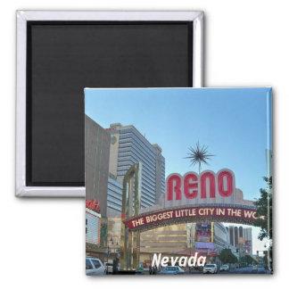 Reno, Nevada Square Magnet