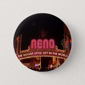 Reno Sign 6 Cm Round Badge