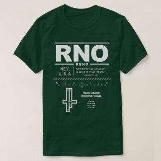 Reno Tahoe International Airport RNO T-Shirt