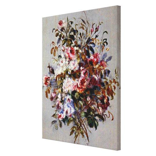 Renoir - A Bouquet of Roses Canvas Print