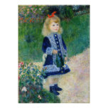 Renoir: A Girl With A Watering Can Poster
