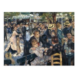 Renoir: Bal du Moulin de la Galette postcard