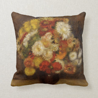 Renoir: Bouquet of Chrysanthemums Cushion