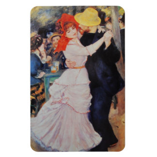 Renoir Dance at Bougival France Rectangular Photo Magnet