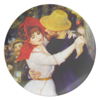 Renoir Dance at Bougival Plate
