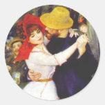 Renoir Dance at Bougival Stickers