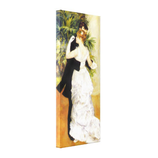 Renoir Dance in the City Canvas Print