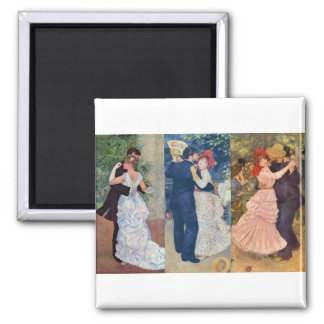 Renoir - Dance in the City, Country, and Bougival Magnet
