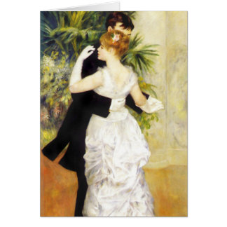 Renoir Dance in the City Note Card