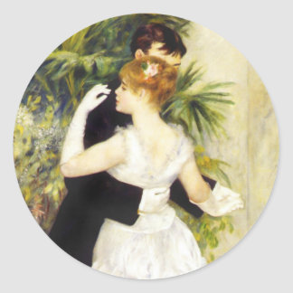 Renoir Dance in the City Stickers