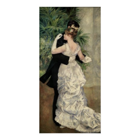 Renoir Dancing in the City Art Poster