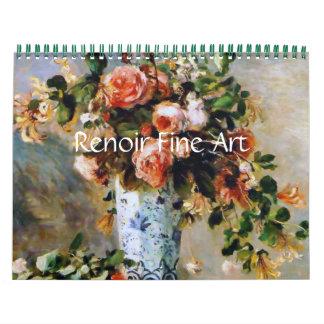 Renoir Fine Art Wall Calendars