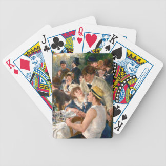 Renoir French Luncheon at the Boating Party Bicycle Playing Cards