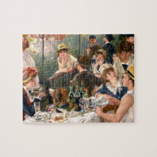 Renoir French Luncheon at the Boating Party Jigsaw Puzzle