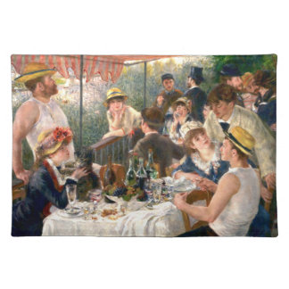 Renoir French Luncheon at the Boating Party Placemat