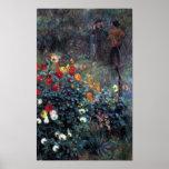 Renoir - Garden in the street Cortot Montmartre Print