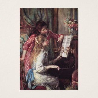 Renoir: Girls at the Piano Business Card