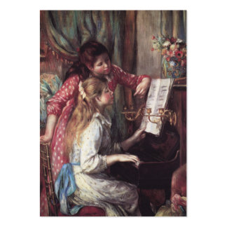 Renoir: Girls at the Piano Pack Of Chubby Business Cards