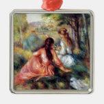 Renoir: In the Meadow Christmas Tree Ornament