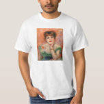 Renoir Jean Samary in a Low Necked Dress T-shirt