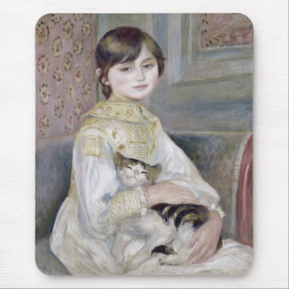 "Renoir, ""Julie Manet"" Mouse Pad"