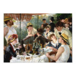 Renoir: Luncheon of the Boating Party 13 Cm X 18 Cm Invitation Card