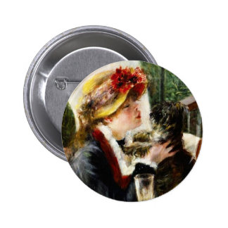 Renoir Luncheon of the Boating Party Button