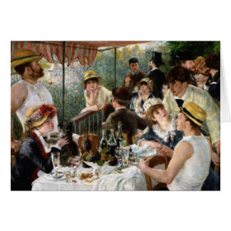 Renoir: Luncheon of the Boating Party Greeting Card