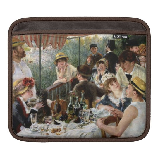 Renoir: Luncheon of the Boating Party iPad Sleeves