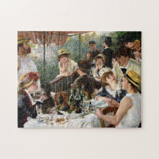 Renoir: Luncheon of the Boating Party Jigsaw Puzzle