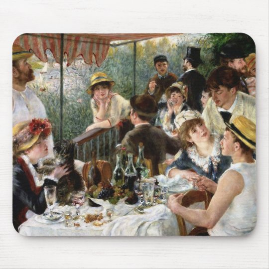 Renoir: Luncheon of the Boating Party Mouse Mat