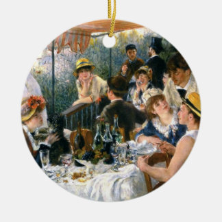 "Renoir, ""Luncheon of the Boating Party"" Ornament"