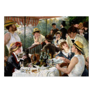 Renoir: Luncheon of the Boating Party Pack Of Chubby Business Cards