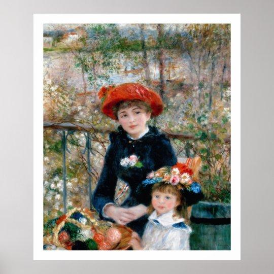 Renoir - On the Terrace Poster