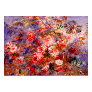 Renoir: Roses by the Window Pack Of Chubby Business Cards