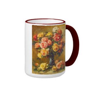 Renoir Roses in a Vase Mug
