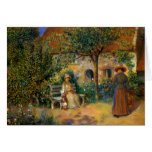 Renoir: Scene of the Garden in Brittany Cards