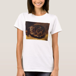 Renoir Sleeping Cat T-shirt