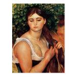 Renoir The Braid Postcard