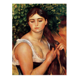 Renoir The Braid Postcard