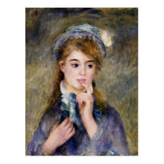 Renoir - The Ingenue Postcard