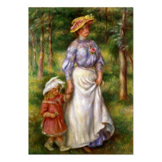 Renoir The Walk Business Cards