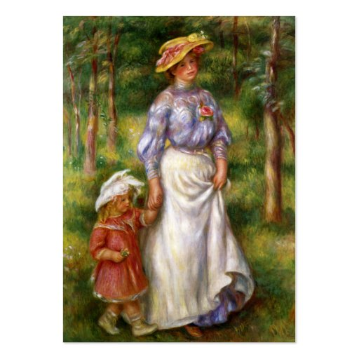 Renoir: The Walk Business Cards
